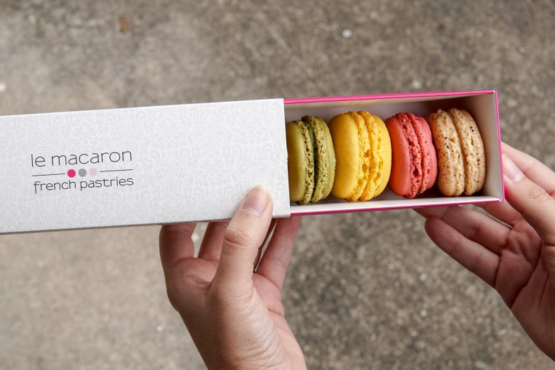 Le Macaron French Pastries - www.discoveringyourhappy.com