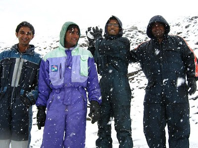 Tourists at Rohtang