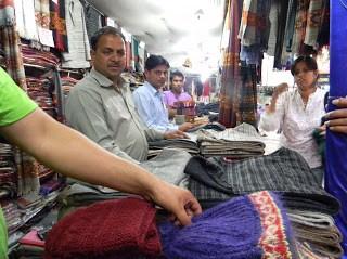 Yak wool shop