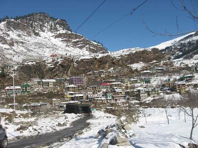 Palchan village near Manali