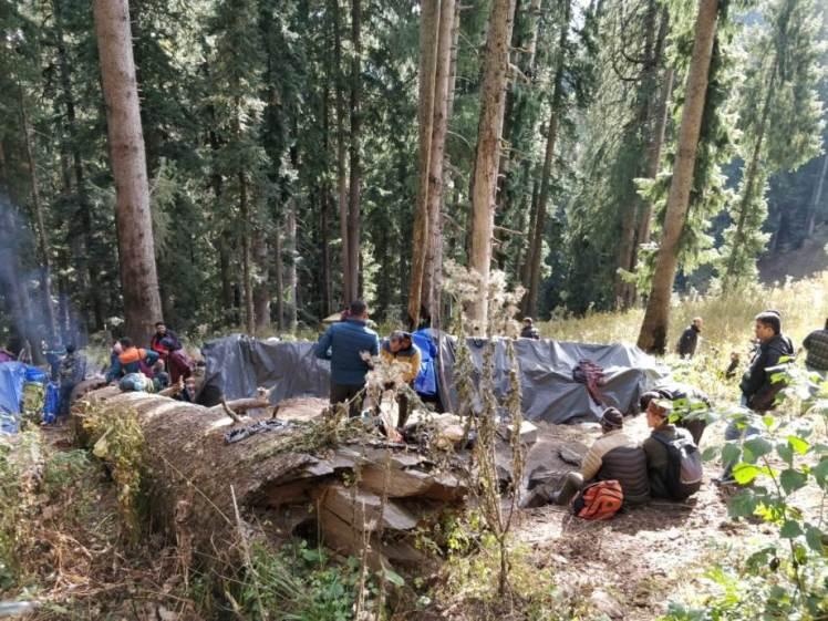 police raid charas smugglers camps - Malana Cream