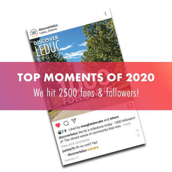 TOP MOMENTS OF 2020: We hit 2500 fans + followers