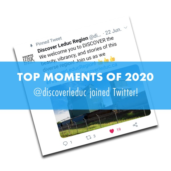 TOP MOMENTS OF 2020: @discoverleduc joined Twitter!
