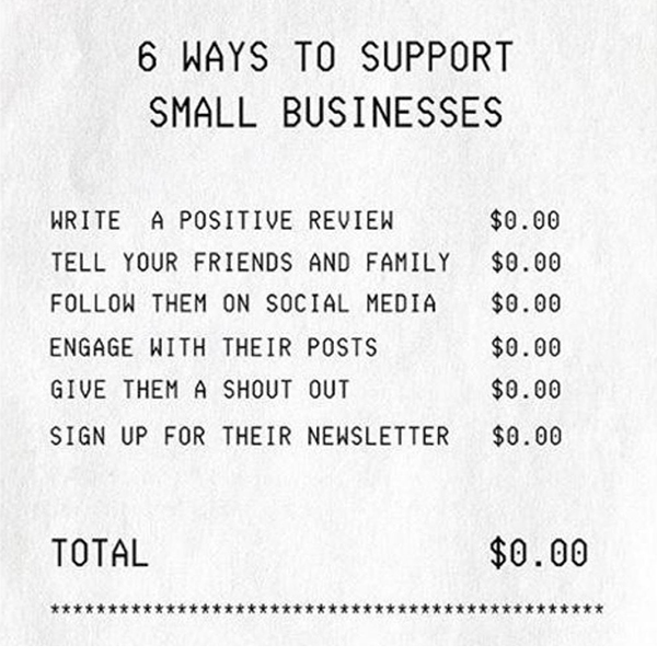 FREE Ways to Support Local - Photo Credit: @YEGTweetUp (Twitter)