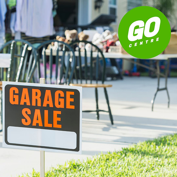 Community Garage Sale | Sponsored by The GO Centre