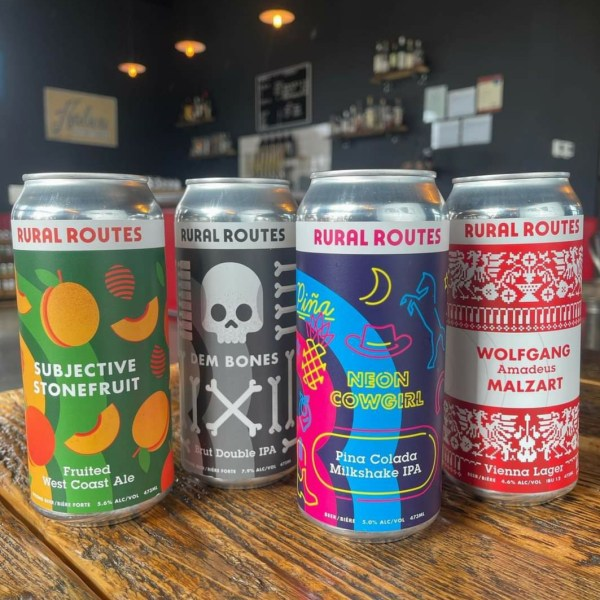 Craft Beers from Rural Routes Brewing Company