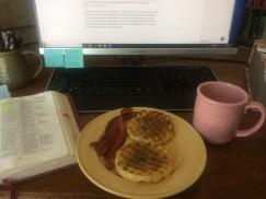 Waffles & Bacon