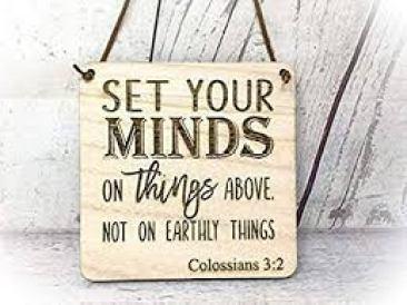 Colossians 3-2 A