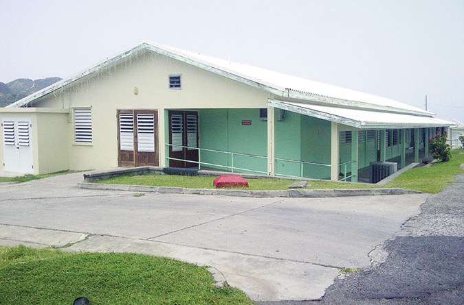 Glendon Hospital (Montserrat Reporter Photo)
