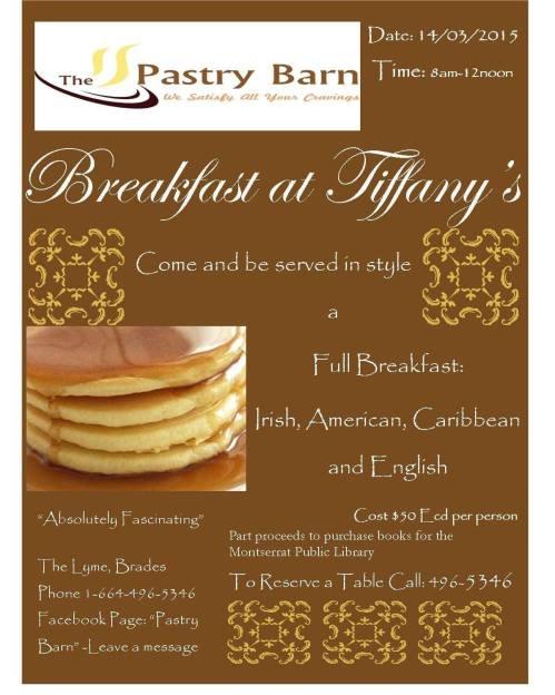 Breakfast at Tiffany's.