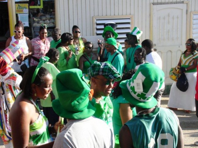 St. Patrick's Festival on Montserrat - 2012 (Nerissa Golden Photo)