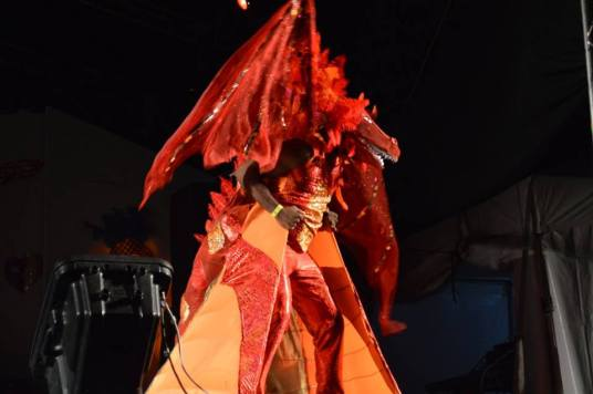 Dragon Fantasy designed by Jewelline Roberts-Riley was the winner.