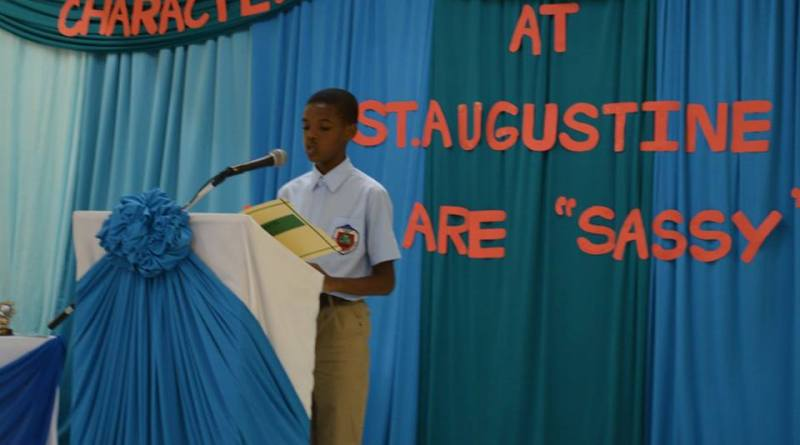 Grade 6 student Princewill Madu believes Recycling Should be Compulsory.