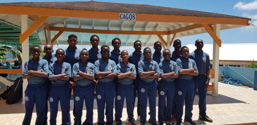 MFA Under 14 squad to CFU competition.