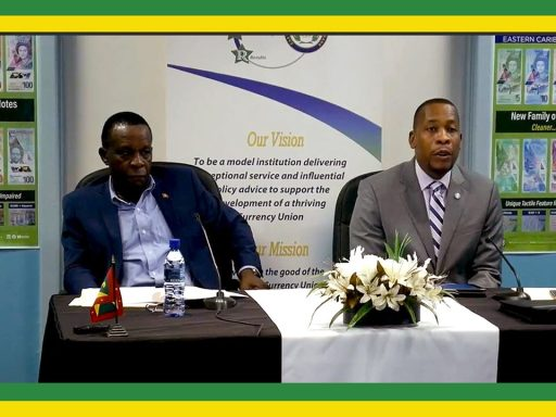Hon. Prime Minister of Grenada Keith Mitchell, Governor of the ECCB Timothy J. Antoine
