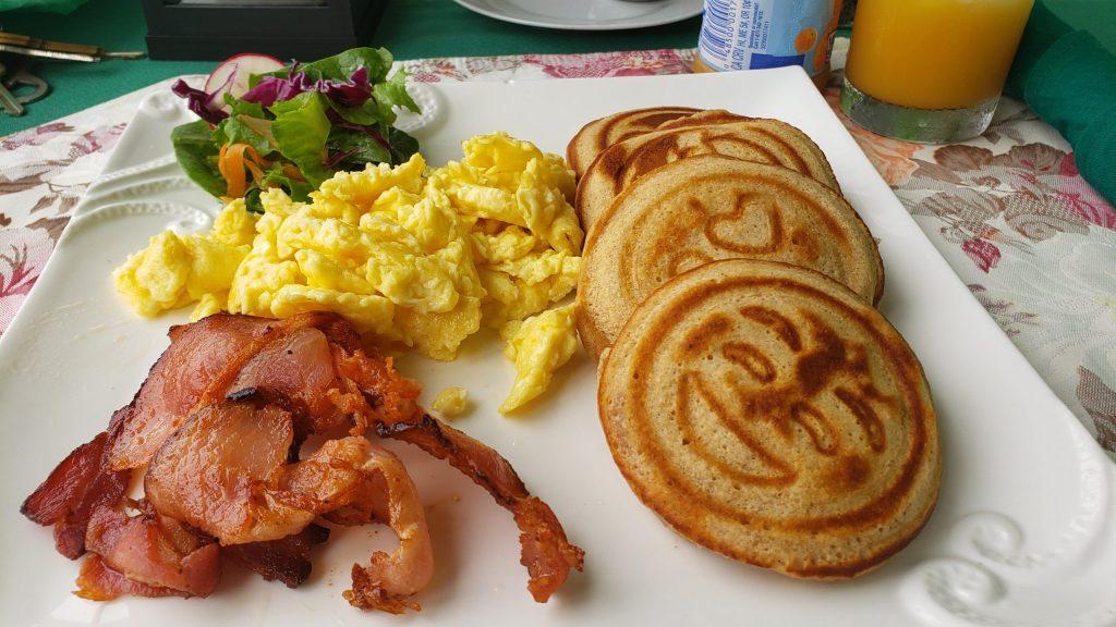 Pancake breakfast at Grand Phoenix