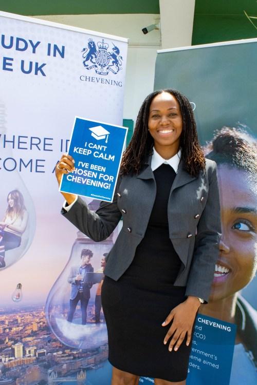Chivone Gerald - 2021 Chevening Scholar for Montserrat