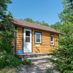 cabin rental at ness creek