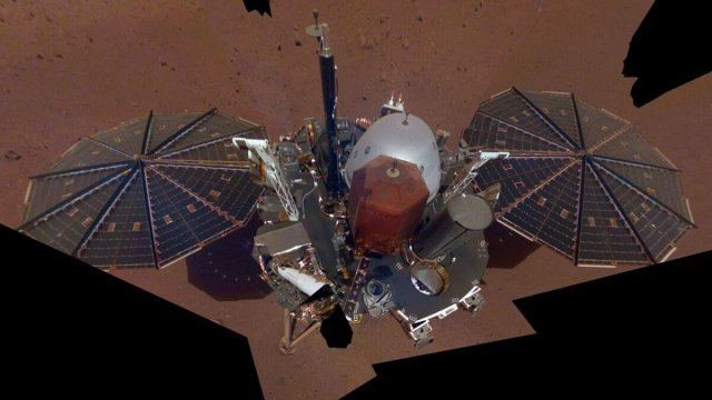 InSight, on the red planet having a tough leg of the race