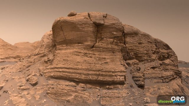 Mont Mercou in Gale Crater on Mars