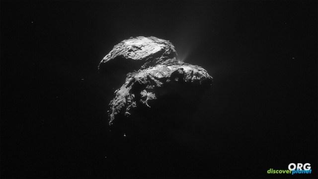 Comets signature coma in the Kuiper Belt