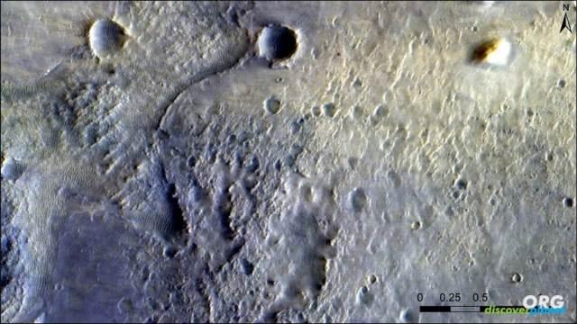 The surface of Mars from TGO of ExoMars program