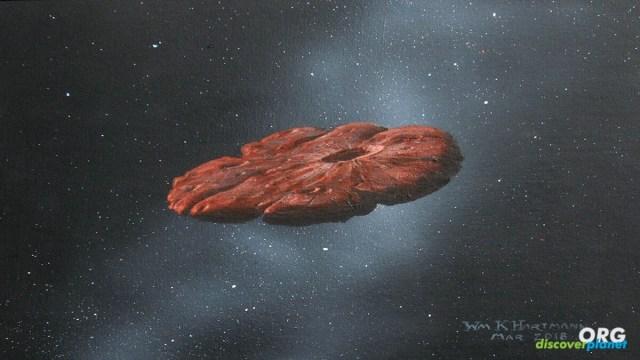 Oumuamua seems to be a shard of a Pluto-like planet