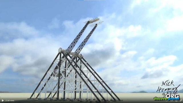 An alternative vision for a SpaceX tower