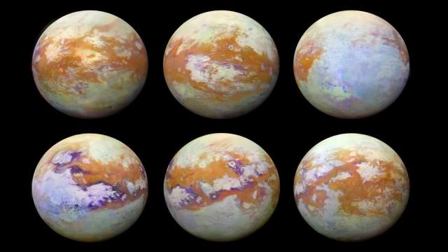 Recreating atmospheric conditions on Titan in a laboratory