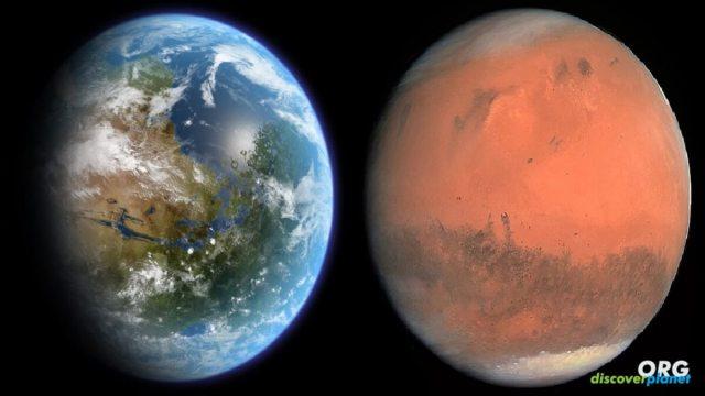 Between 30% and 90% of Mars' water went underground
