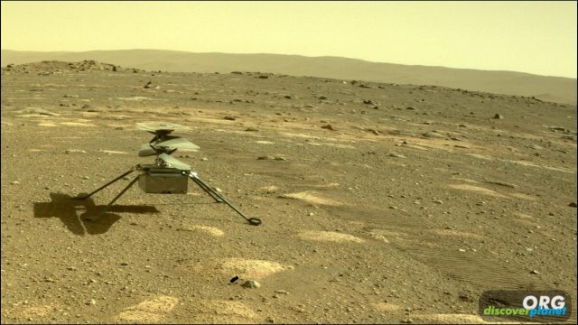 Mars helicopter survived its first night on the Martian surface