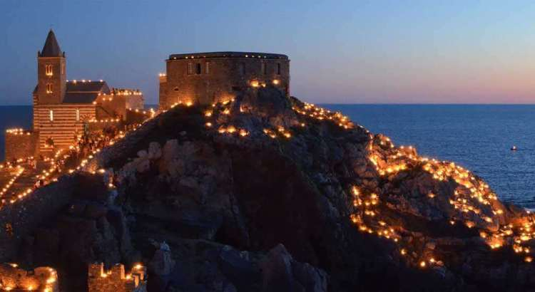 Portovenere lights up for the White Madonna, image by italianpix