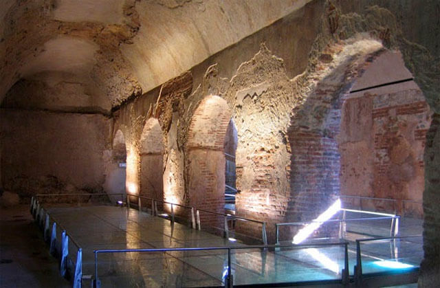 The Roman villa of Varignano, Liguria