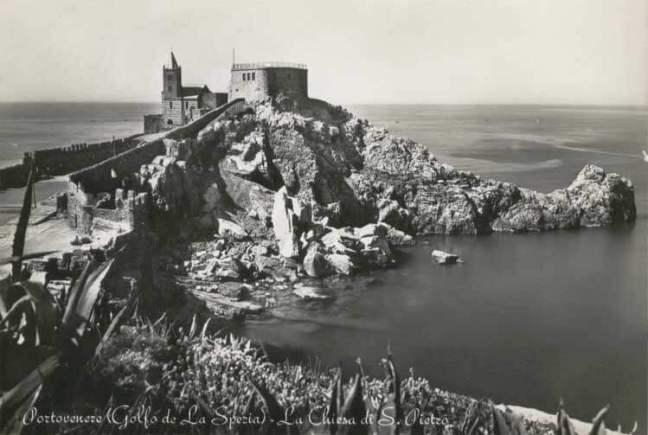 Postcard of the Gulf of La Spezia, Gulf of Poets: Portovenere