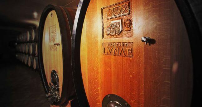 The wine cellars at Ca' Lvnae Winery in Liguria