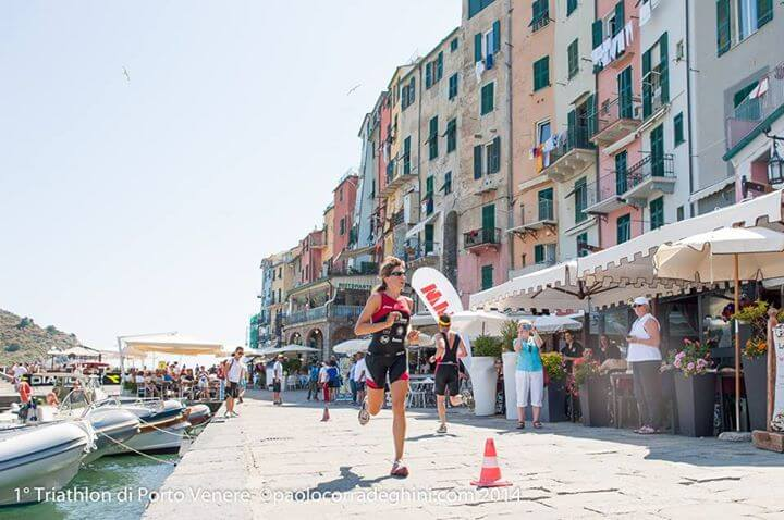 Triathlon Sprint Running Portovenere
