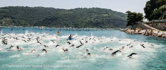 Triathlon Sprint Swimming Portovenere