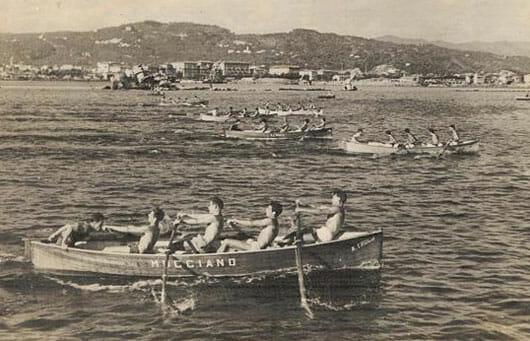 Historic photos of the Palio of the Gulf, La Spezial Liguria