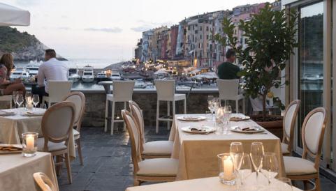 Grand Hotel Portovenere, panoramic terrace