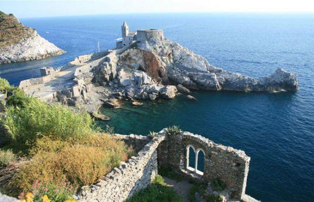The view from Castello di Portovenere