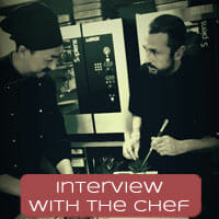 Interview with the chef