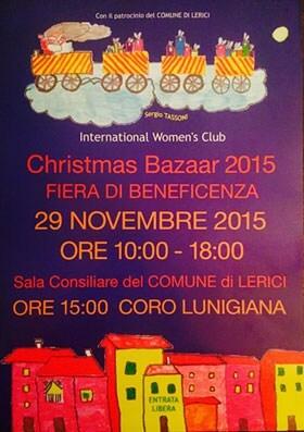 Lerici Christmas Charity Bazaar 2015