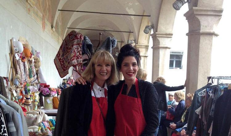"""Vintage Stall at Lerici """"Spring Fair"""" Charity Bazaar"""