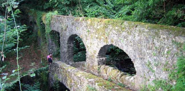 Ruins in the Montemarcello Magra Park, Liguria