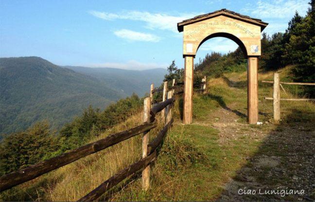 The Via Francigena in eastern Liguria
