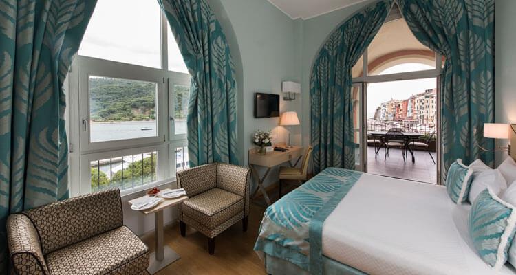 Luxury Room with Sea View in Liguria - Portovenere Grand