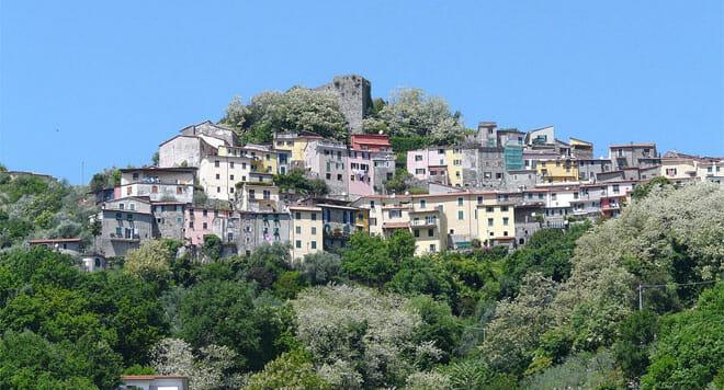 Trebiano in Liguria, Gulf of Poets