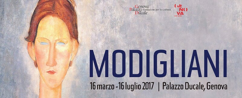 Modigliani Exhibit in Genoa