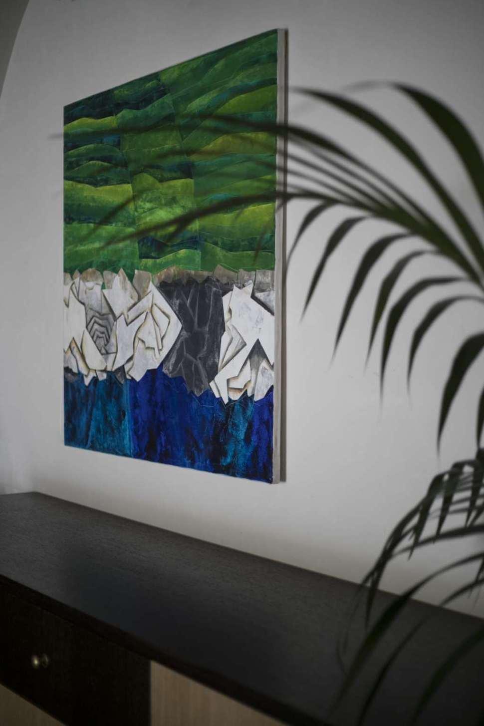 Francesco Vaccarone artist Cinque Terre painting
