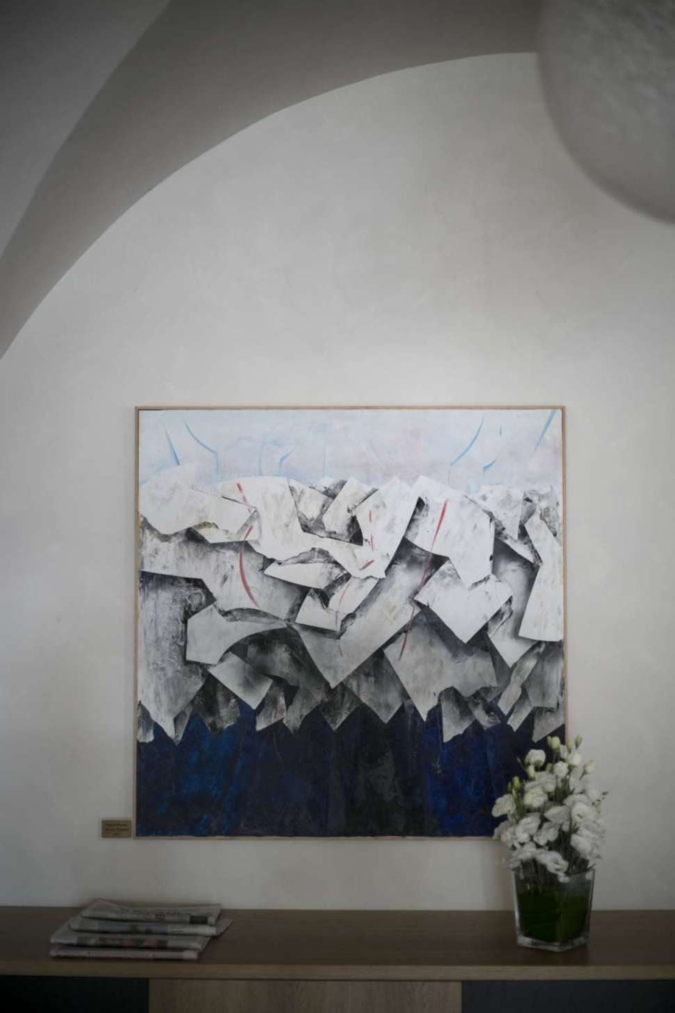 Francesco Vaccarone artist painting Portovenere Alle Nere